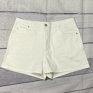 White short shorts by Point Zero